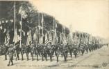 PARIS LES FETES DE LA VICTOIRE 14 JUILLET 1919 LE DEFILE DE L'ARMEE AMERICAINE - Patrióticos