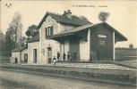 SAINT BAUDEL - ( Cher )  La Gare - Autres Communes