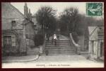 Cpa  Du 02 Chauny  L' Escalier Des Promenades      HB4 - Chauny