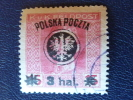 Pologne, 1918, Michel 21 Obl. - Usati