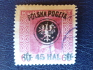 Pologne, 1918, Michel 24 Obl. - ....-1919 Gobierno Provisional