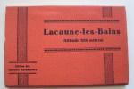CARNET DE 18 CPA EN ACCORDEON DE LA VILLE DE LACAUNE-LES-BAINS - Other Municipalities