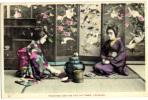 JAPAN JAPON   GEISHA   Old Postcard - Japan