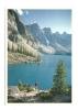 Cp, Canada, Moraine Lake, Banff National Park, The Canadian Rockies, écrite - Banff