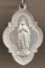 50 X 35 Mm, En Aluminium Cette Grande Médaille Superbement Conservée...50 X 35 Mm- Gros Reliefs Recto Et Verso - Religión & Esoterismo
