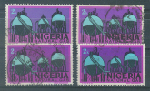 VEND TIMBRES DU NIGERIA N° 282 (B) X 4 NUANCES DIFFERENTES !!!! - Nigeria (1961-...)