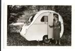"1940/50s France Caravane ""Ma Coquille"" RP Ppc/cpa Unused Caravan Card - Cartes Postales"