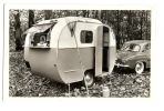 "1940/50s France Caravane ""Ma Coquille"" Confort RP Ppc/cpa Unused Caravan Card - Postcards"