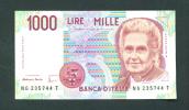 ITALY  -  1990  1000 Lira Circulated As Scans - [ 2] 1946-… : République