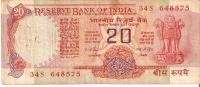 BILLETE DE LA INDIA DE 20 RUPEES    (BANKNOTE) - India