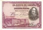 BILLETE DE ESPAÑA DE 50 PTAS DEL AÑO 1928 CALIDAD MBC  SERIE E - 50 Pesetas