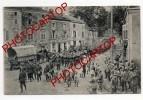 VIC Sur SEILLE-Defile De Troupes-Musique-CARTE IMPRIMEE Allemande-FRANCE-57-1WK.-14-18-Militaire-FELDPOST-206 Inf.Div. - Vic Sur Seille