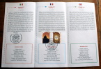 VATICANO 2012 -  FDC , EUROPA 2012, SPECIAL OBLITERATION ON OFFICIAL BULLETIN, LIMITED EDITION - FDC