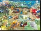 MINT NEVER HINGED MINI SHEET OF FISH-MARINE LIFE  #  M-1201 *  ( VANUATU  879  STIC ON - Mundo Aquatico