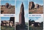 990-France Bretagne-Megalithes Principaux Dolmens Et Mehirs De Bretagne-Multivues-Ed Jos - Dolmen & Menhirs