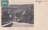 15 - CHAUDESAIGUES - Le Courrier Allant à St-Flour (hiver) - Attelage - Other Municipalities
