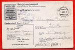 ALLEMAGNE CAMP DE PRISONNIER CARTE AVEC REPONSE DE 1944 DE STALAG IV A POUR SAINT GERMAIN FRANCE - Briefe U. Dokumente