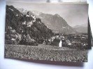 Liechtenstein Vaduz Schloss Und Stadt - Liechtenstein