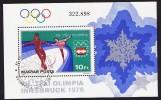 1975  Jeux Olympiques D'hiver Innsbruck  Oblitété Premier Jour