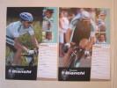 CYCLISME CICLISMO WIELRENNEN RADSPORT : STEINHAUSER Et GUIDI  TEAM BIANCHI  2003 - Cycling