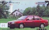 NISSAN  *  * Télécarte JAPON VOITURE (69)  Phonecard JAPAN *  Telefonkarte * AUTO * CAR * WAGEN - Auto's