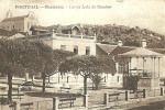 PORTUGAL - CHAMUSCA - LARGO LUIS DE CAMOES - 1910 PC - Santarem