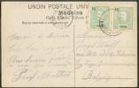FUNCHAL - 10r. (paire) Obl. Dc FUNCHAL S/C.V. Du 19 Mai 1907 Vers Sclessin (Belgique). - 7671 - Afrique Portugaise