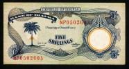 "**A Voir ** 5 Shillings ""BIAFRA""    1968/1969    SUP/XF  Usagé2 - Nigeria"