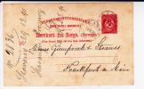 NORGE - 1930 - CARTE POSTALE ENTIER De STAVANGER Pour FRANKFURT (GERMANY) -
