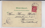 NORGE - 1901 - CARTE POSTALE  De BERGEN Pour HANNOVER (GERMANY) - - Briefe U. Dokumente