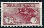 """Yt 231 """" Série Orphelins 1F. +25c. Carmin """" 1926-27 Neuf *"""