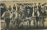 Frontenaud Carte Photo  Fete Velo Tambour De Ville 1913 Epicerie Mercerie - Autres Communes