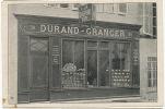 Pub A La Charrue D Or 38 Rue Sigorgne Durand Granger  Pli Transversal Graines - Macon
