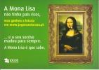 CPM TABLEAU MONA LISA PUB JOGOS Jeux  Si Bandes Jaunes Dues Au Scan - Paintings