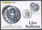 ITALIA - FDC CARTOLINA MAXIMUM CARD 2012 - 150° ANNIVERSARIO LIRA ITALIANA - 276 - Maximum Cards