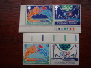 GB 1994 CHANNEL TUNNEL OPENING ISSUE Of 4 Stamps MNH 2 Values In Se-tenant PAIRS. - 1952-.... (Elizabeth II)