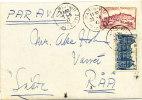 France Cover Sent Air Mail To Sweden Paris 23-8-1947 - France