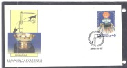 Greece 1605 - FDC First Day Cover 1987 European Mens Basketball Championship - FDC
