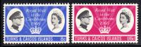 Turks & Caicos MNH Scott #150-#151 Royal Visit - Turks & Caicos