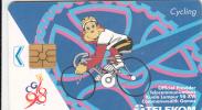 MALAYSIA - Cycling, Kuala Lumpur 98/XVI Commonwelth Games, Used - Deportes