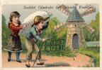 CHROMO   SOCIETE GENERALE DES BISCUITS FRANCAIS  Le Chemin Du Moulin - Süsswaren