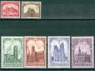 N° 267-272  X- 1928 - Belgio