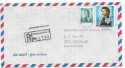 AS - 19244 - Enveloppe Recommandée Envoyée De Honk KIong 4 En Suisse 1969 - Hong Kong (...-1997)