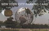*U.S.A. - PARKING CARD - NEW YORK* - Usata