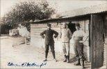 Soldats Français En Allemagne Au  Camp De Prisonniers D´ Ohrdruf  En 1914.1918: (gros Plan) - Guerre 1914-18