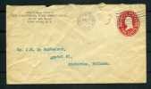 1913 Stationery Cover From The California Wine Association To Amsterdam - Wines & Alcohols