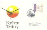 Lettre Timbre Frama ATM  DARWIN 5790.  (Territoire Du Nord)   AUSTRALIE  1985 - ATM - Frama (vignette)