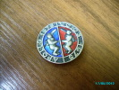 USSR RUSSIA  USA  SPACE  1975 SOYUZ  APOLLO JOINT FLIGHT  PIN BADGE , RARE!  Heavy Metal And Glass Enamels - Airships