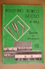 PBF/25 BOLLETTINO TECNICO GELOSO 1966/AMPLIFICATORI/FONOVALIGIE - Libri & Schemi