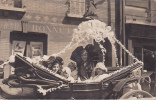 20686, Carte Photo Carnaval, Char Alsace France -on Voit : -GERIE BONNETERIE - Café HO-- Landau  - Cartes Postales